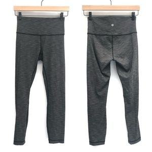 Lululemon Grey Space Dye Pants - Size 6